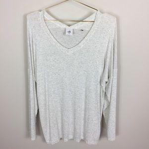 CAbi Soft Long Sleeve V-neck T-Shirt M